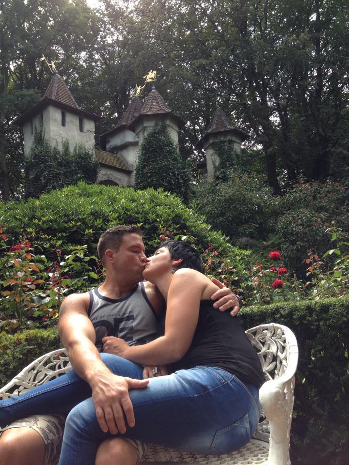 Efteling - liefdevol echtpaar
