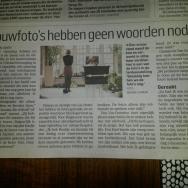 Publicatie in AD, Utrechts Nieuwsblad