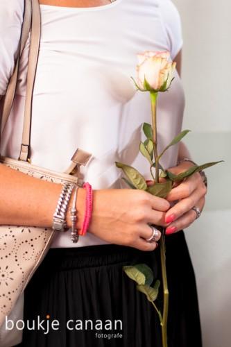 uitvaart - rouwbloem roos