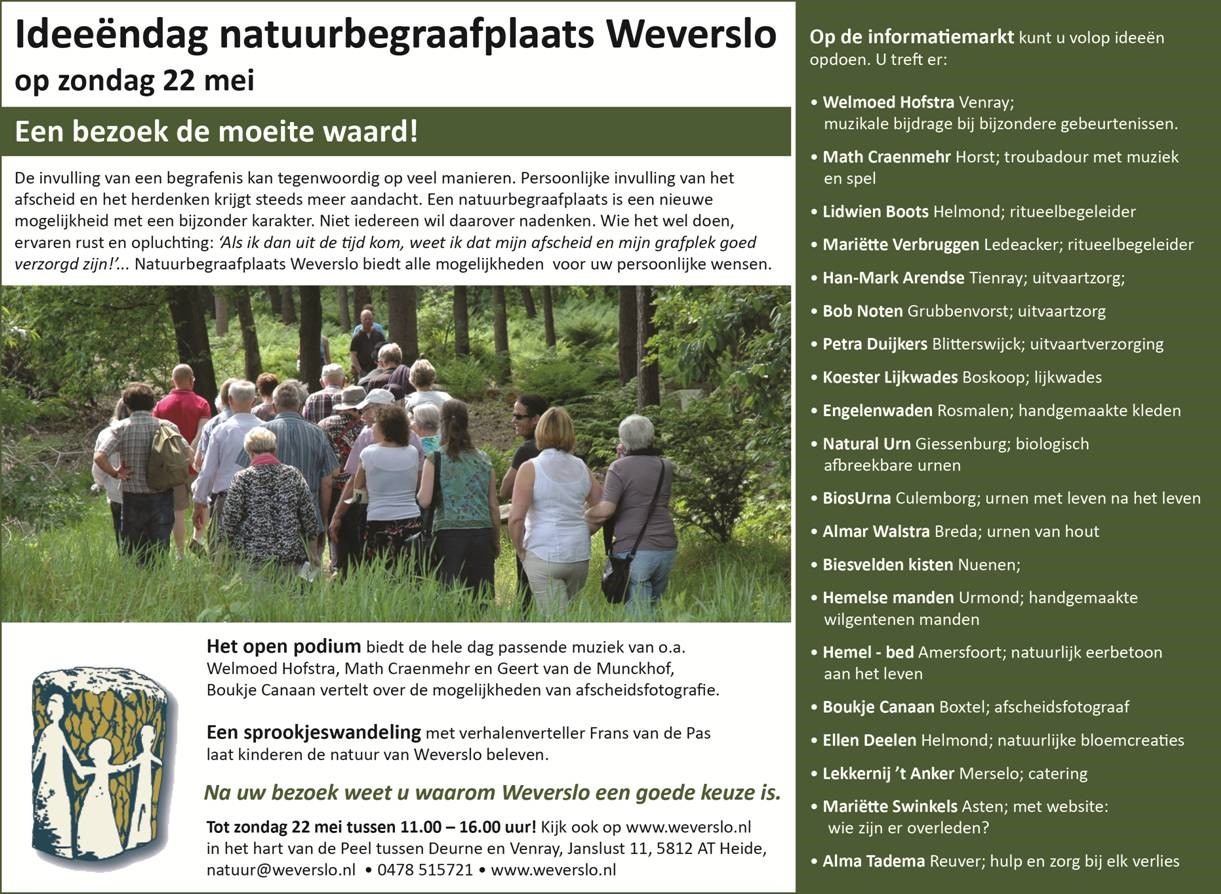 natuurbegraafplaats Weverslo
