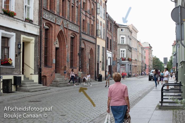 boukje-canaan-Kopernica street, Torun